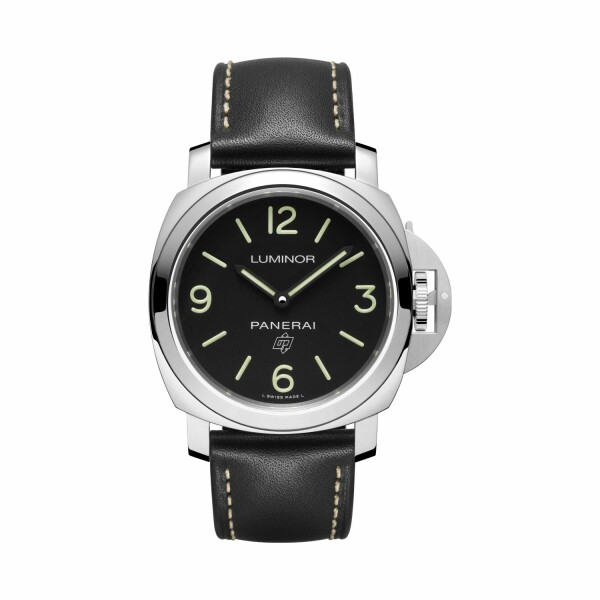 Montre Panerai Luminor Base Logo 3 Days Acciaio - 44mm