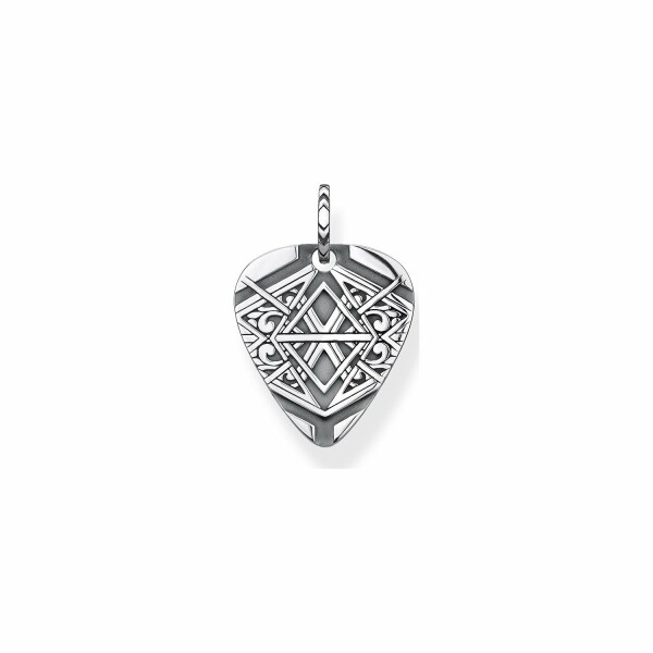 Pendentif Thomas Sabo Rebel at heart Dog tag en argent