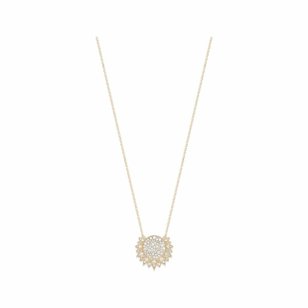 Pendentif Piaget Sunlight en or rose et diamants