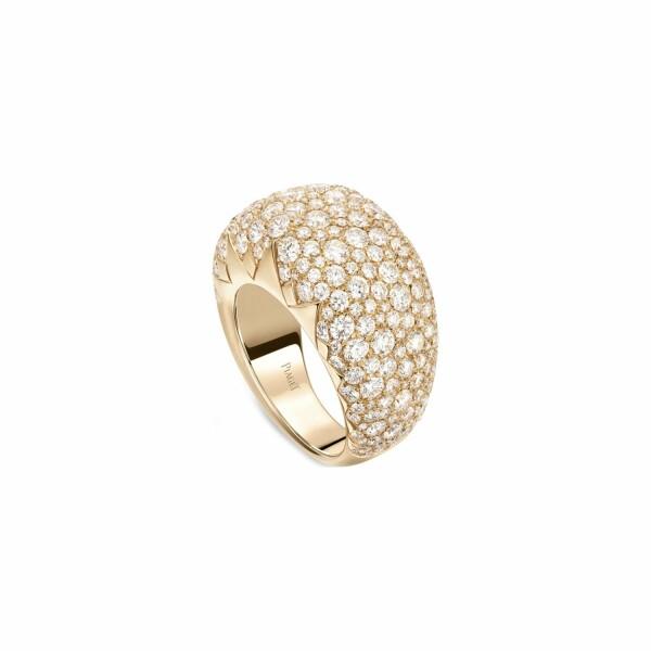 Bague Piaget Sunlight en or rose et diamants