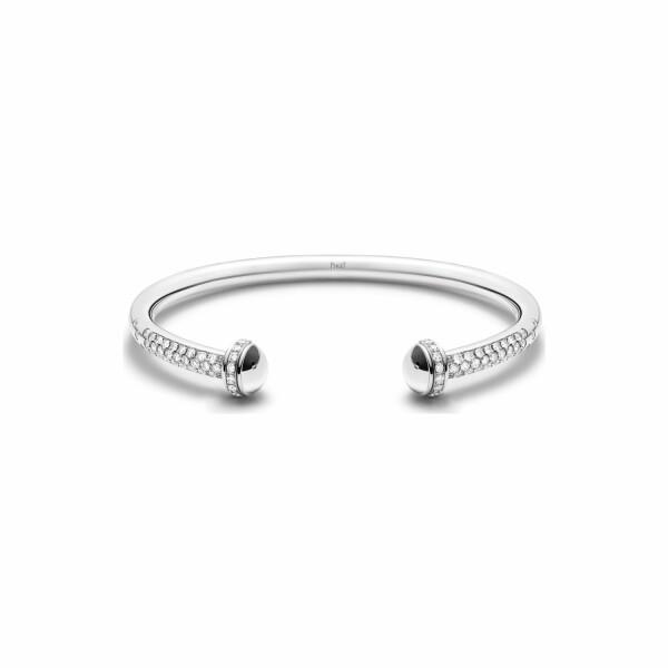 Bracelet Bangle Piaget Possession en or blanc et diamants