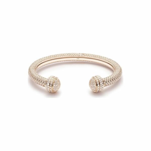 Bracelet Bangle Piaget Possession en or rose et diamants