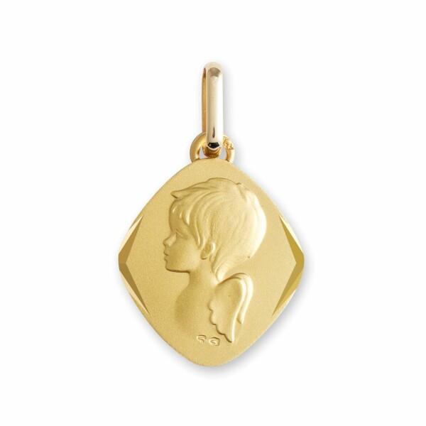 Médaille de baptême Lucas Lucor ange en or jaune