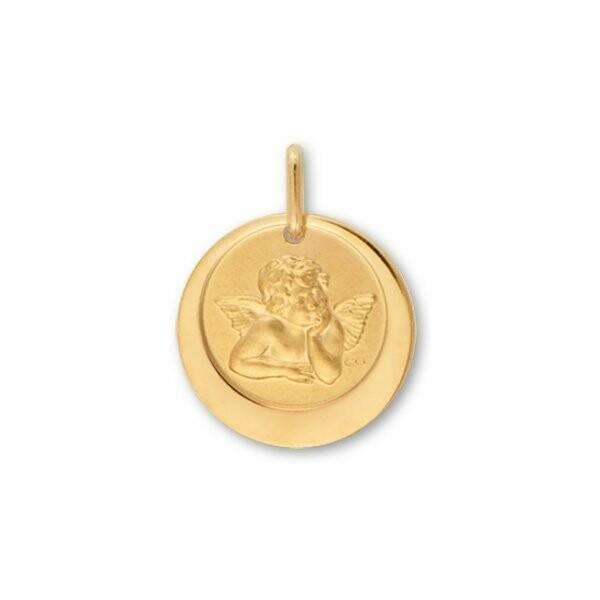 Médaille Ange Lucas Lucor en or jaune