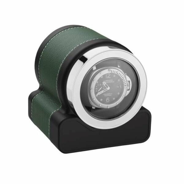 Remontoir pour montre automatique Scatola del Tempo ROTOR ONE en cuir vert