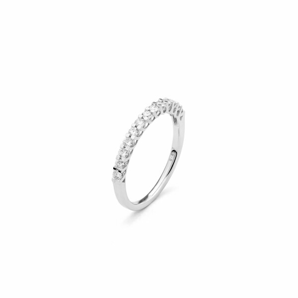 Alliance en or blanc et diamants de 0.25ct