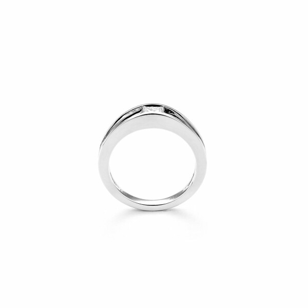Solitaire en or blanc et diamant de 0.43ct