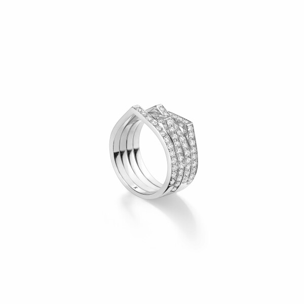Bague Repossi Antifer en or blanc et diamants
