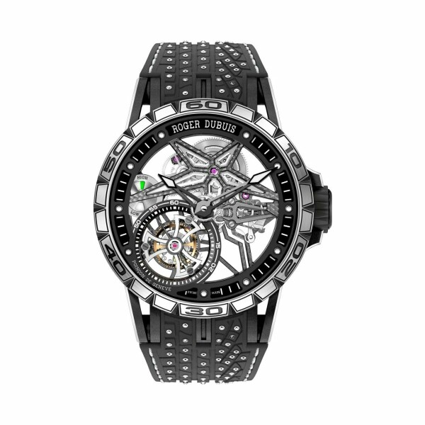 Montre Roger Dubuis Excalibur Spider Pirelli Squelette automatique