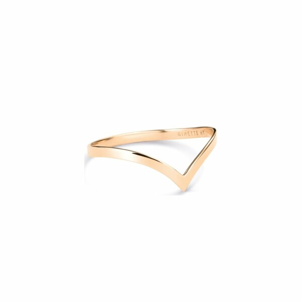 Bague GINETTE NY WISE en or rose