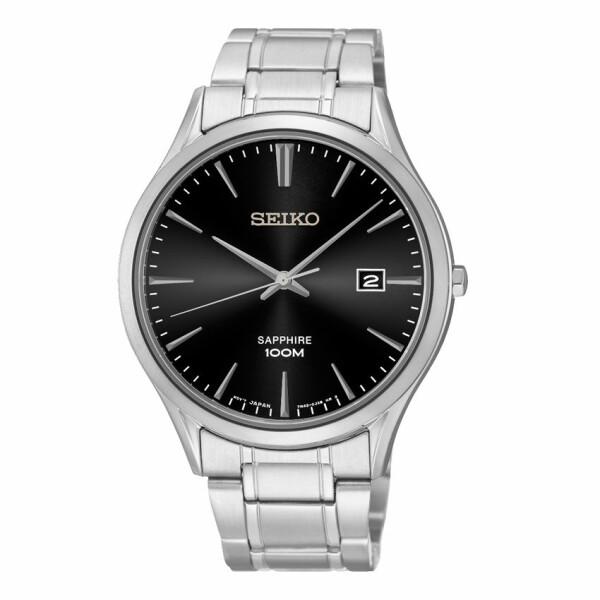 Montre Seiko Classique Homme Quartz 3 aiguilles / date SGEG95P1