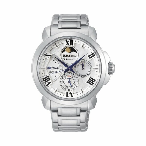 Montre Seiko Premier Kinetic Phase de Lune SRX015P1