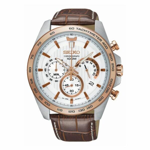 Montre Seiko Sport Chronographe quartz SSB306P1