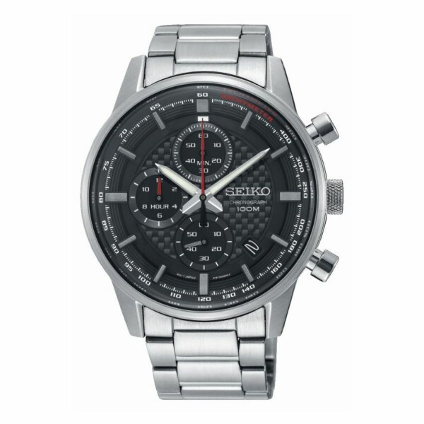 Montre Seiko Sport Chronographe quartz 100M SSB313P1