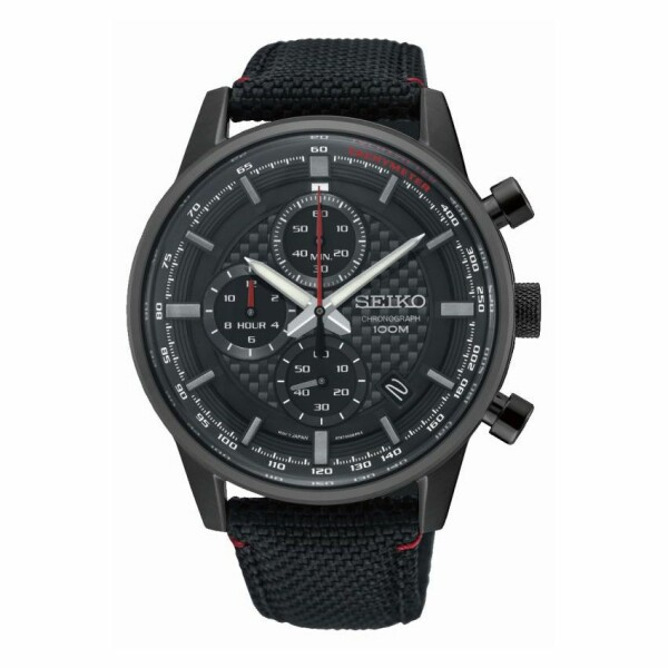 Montre Seiko Sport Chronographe quartz 100M SSB315P1