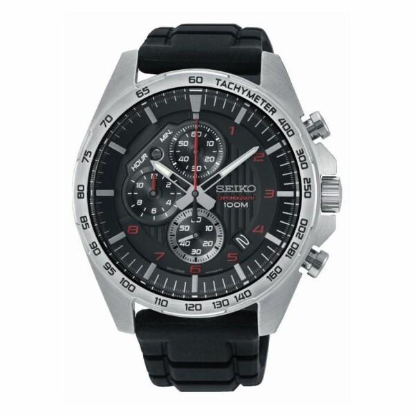 Montre Seiko Sport Chronographe quartz 100M SSB325P1