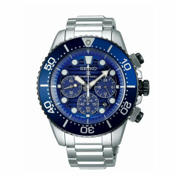 Montre Seiko Prospex Solaire Diver's 200M édition spéciale SSC675P1