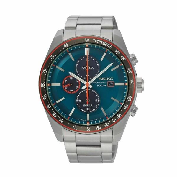Montre Seiko Sport Chronographe Quartz Solaire SSC717P1