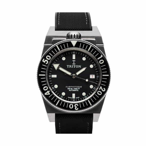 Montre Triton Subphotique Sport Sport Black TR-01