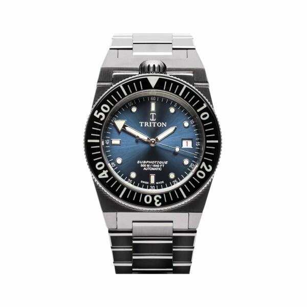 Montre Triton Subphotique Classique Atlantic Blue TR-01