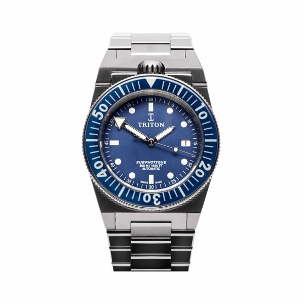 Montre Triton Subphotique Sport Pacific Blue TR-01
