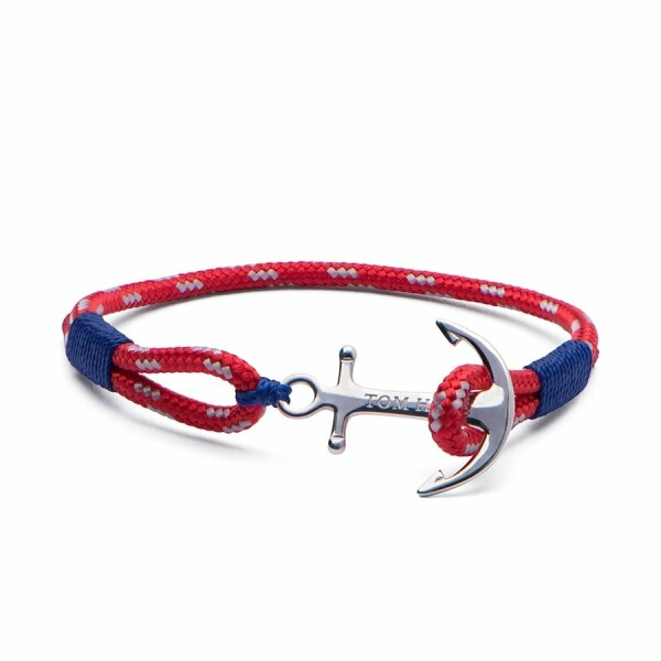 Bracelet Tom Hope Arctic Blue L rouge, bleu en argent