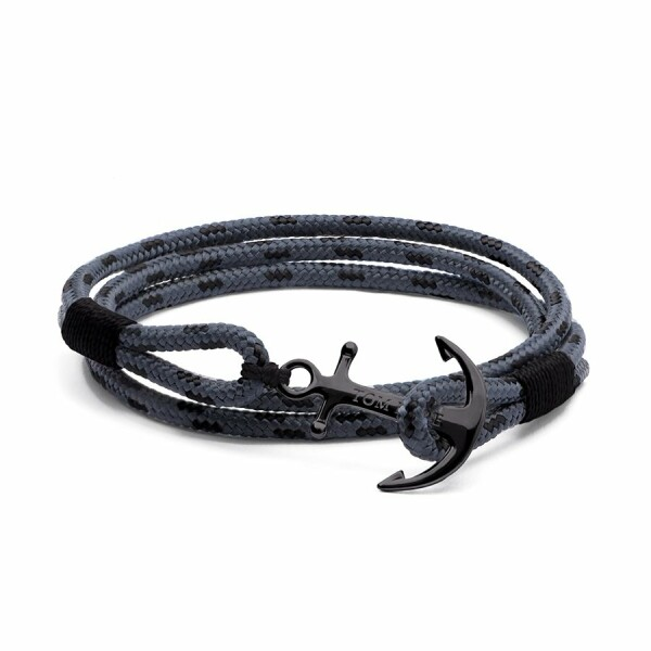 Bracelet Tom Hope Eclipse L gris en argent