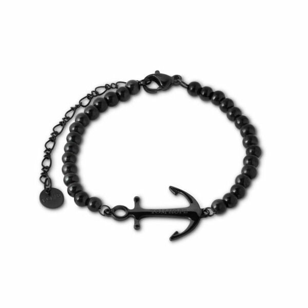 Bracelet Tom Hope Saint Perline Black