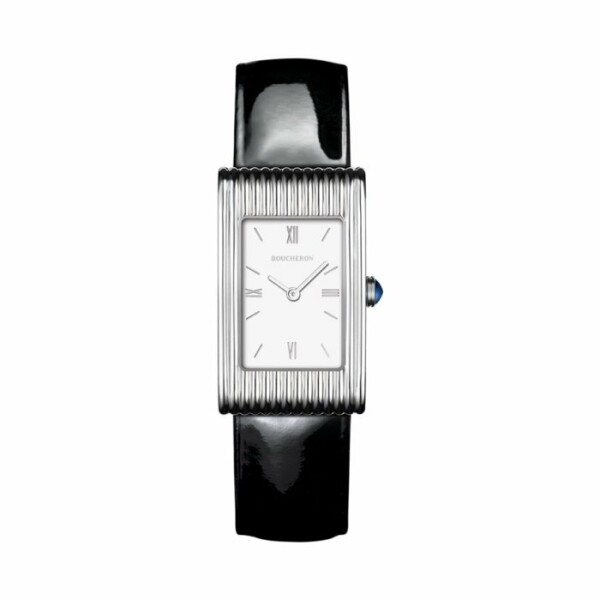 Montre Boucheron Reflet Medium, bracelet vernis