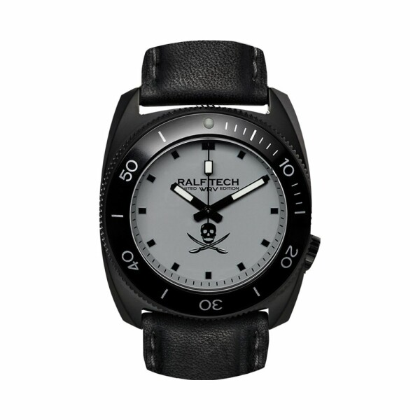 Montre RALF TECH WRV S Hybrid Black Pirates Shadow