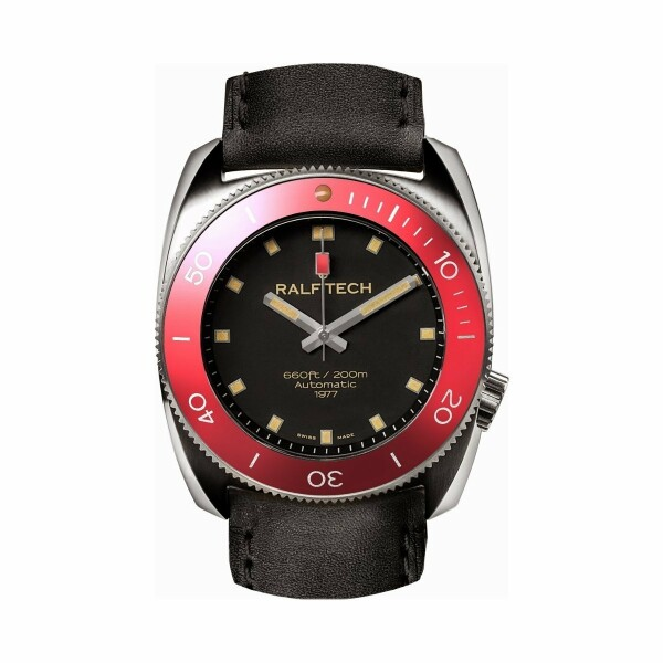 Montre RALF TECH WRV V Automatic 1977 Volcano