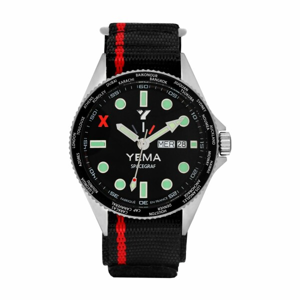 Montre Yema Space Graf Quartz YMHF2016-AJD