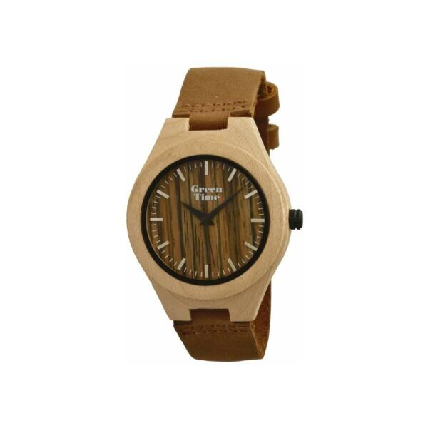 Montre Green Time en bois de érable ZW030L