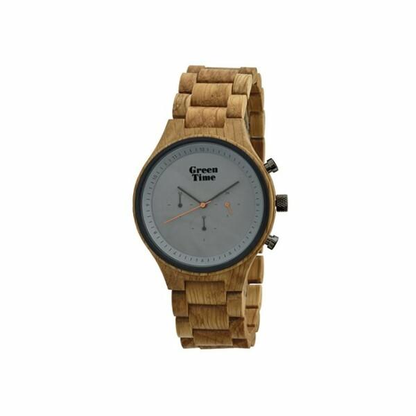 Montre Green Time en bois de chêne ZW063A