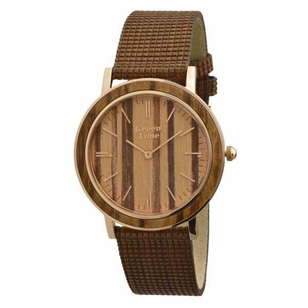 Montre Green Time en bois ZW085B