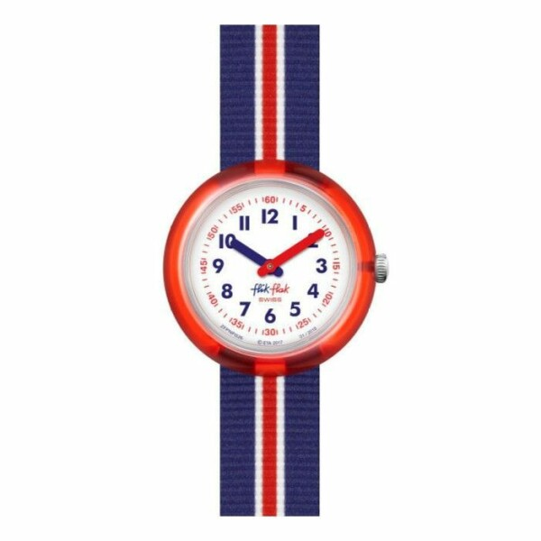 Montre Flik-Flak Red band