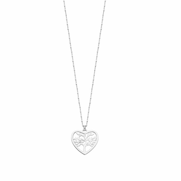 Collier Lotus Silver Moments arbre de vie en argent