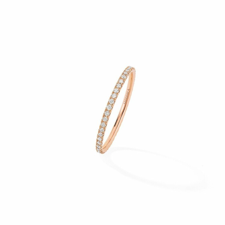 Alliance Messika Gatsby XS en or rose et diamants