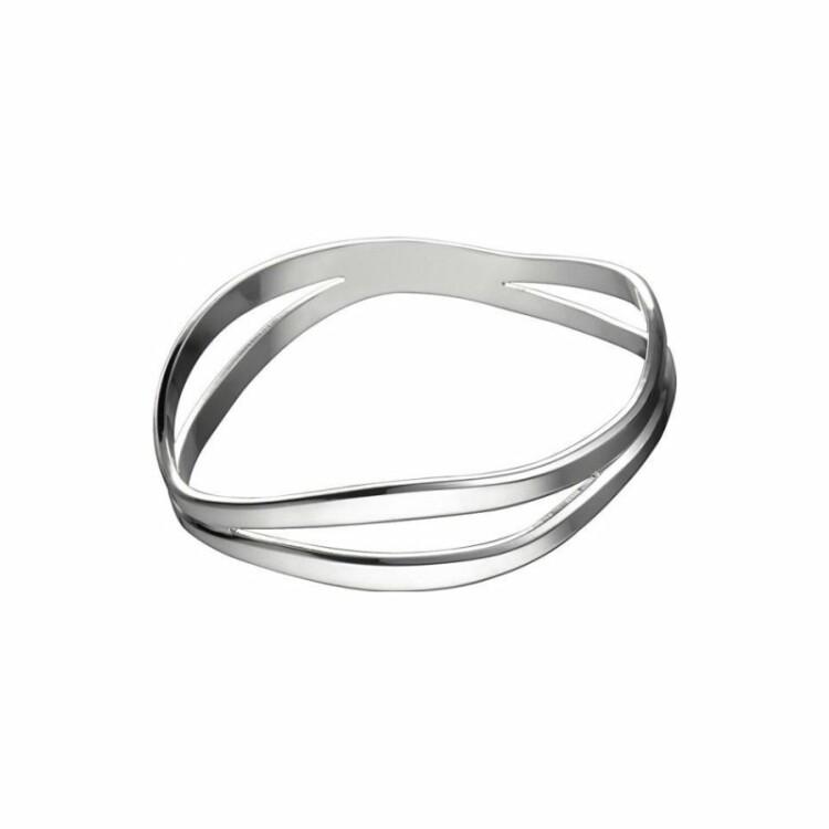 Bracelet Christofle Rivage en argent, taille 2
