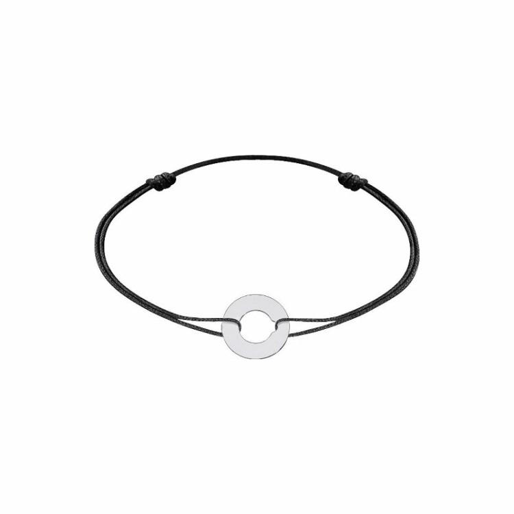 Bracelet sur cordon dinh van Cible en Or blanc