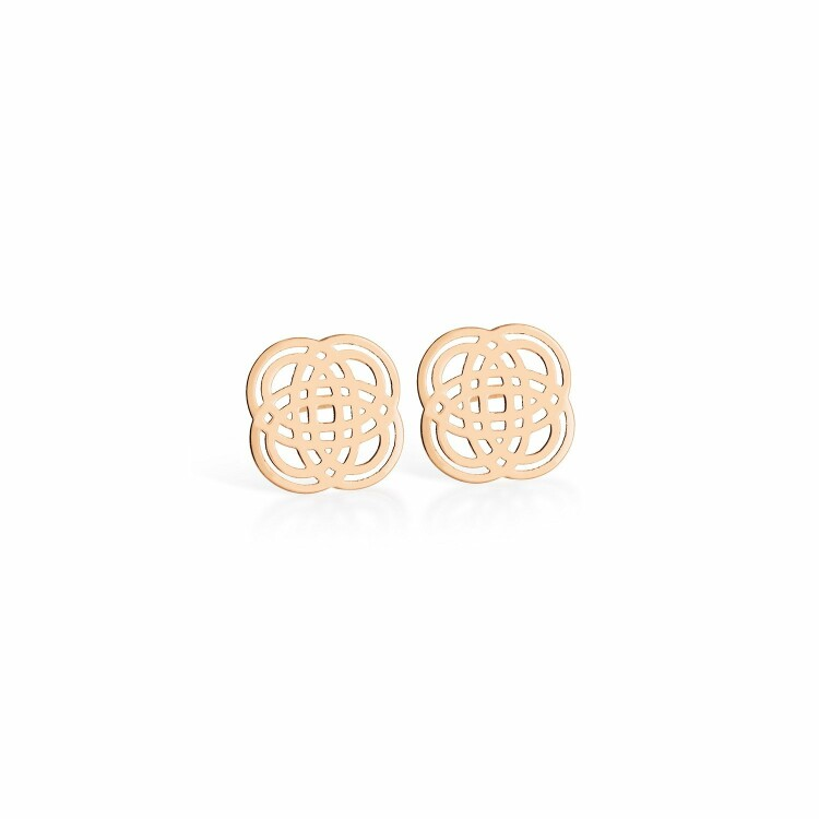 Boucles d'oreilles GINETTE NY PURITY GOLD en or rose