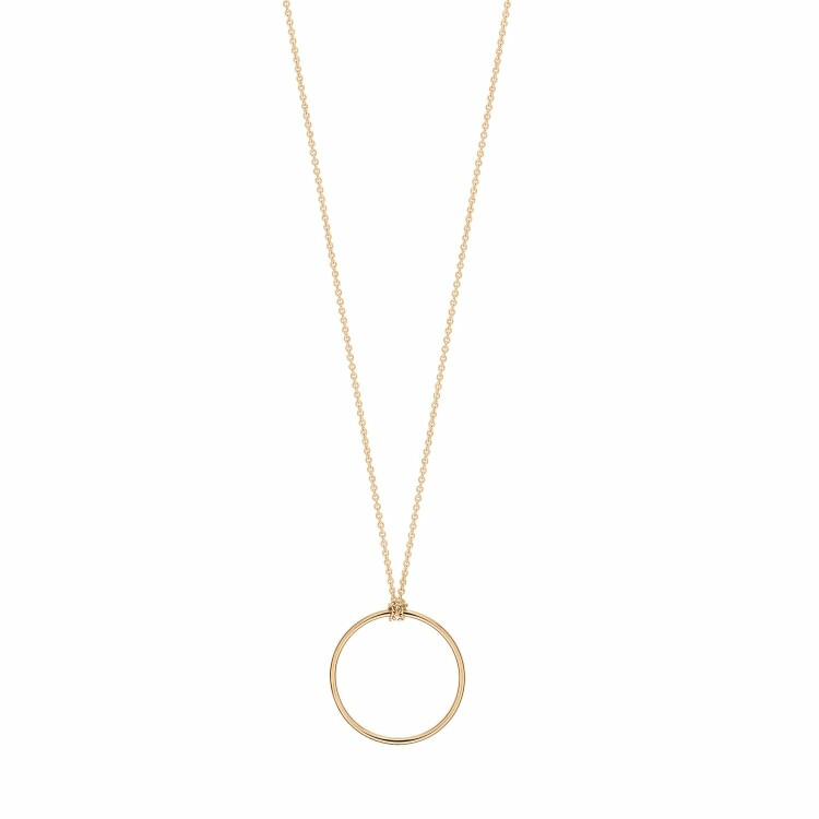 Collier GINETTE NY CIRCLES en or rose