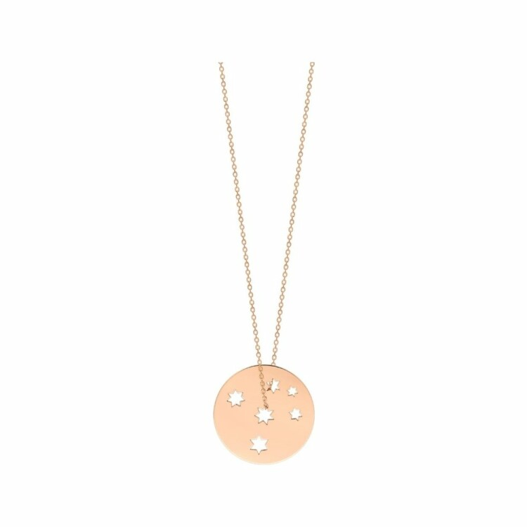 Collier GYNETTE NY MILKY WAY en or blanc