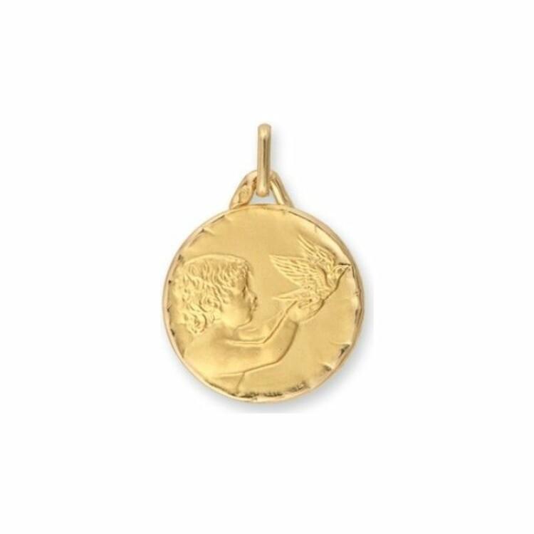 Médaille Lucas Lucor ange en or jaune