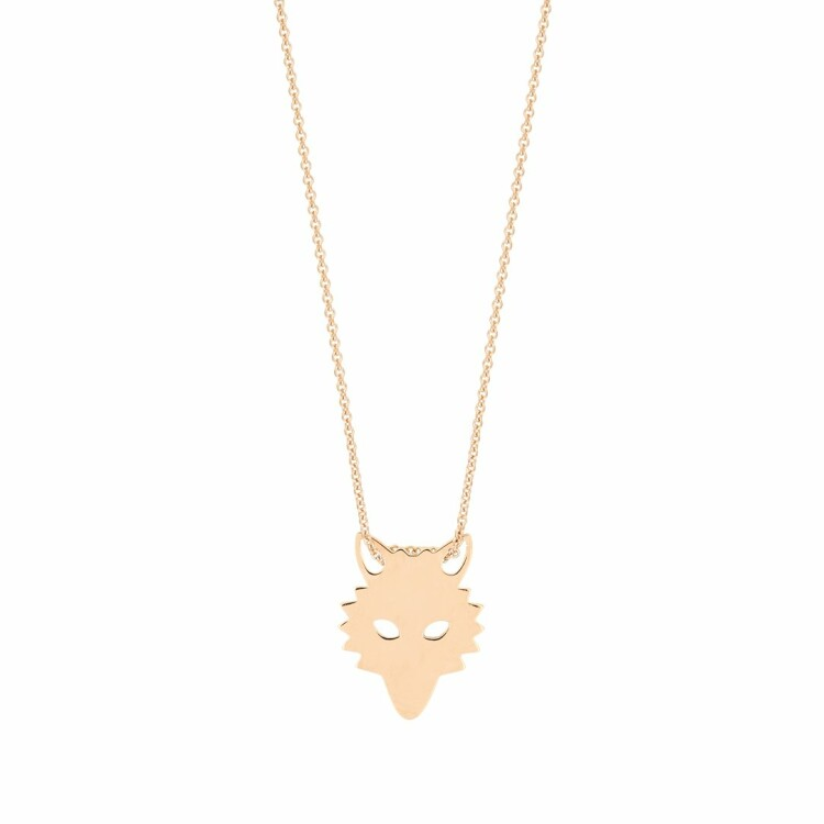 Collier GINETTE NY WOLF en or rose