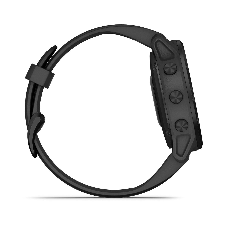Montre connectée Garmin fenix 6S Pro avec bracelet noir vue 7