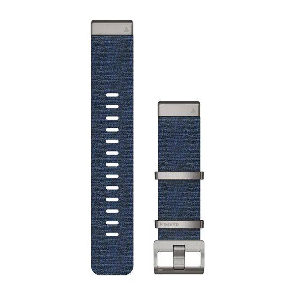 Bracelet de montre Garmin QuickFit 22 en nylon tissé
