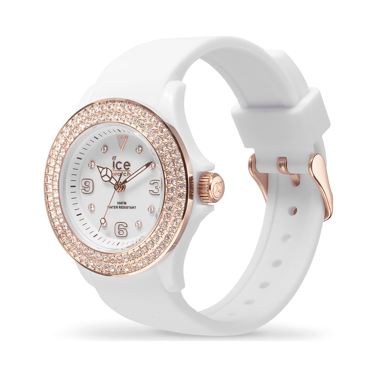 Montre Ice-Watch ICE star - White rose-gold - Smooth - Small - 3H
