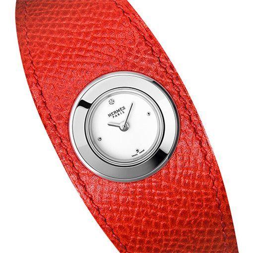Montre Hermès Faubourg Manchette Rouge vue 2