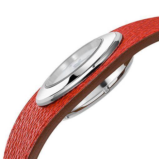 Montre Hermès Faubourg Manchette Rouge vue 3